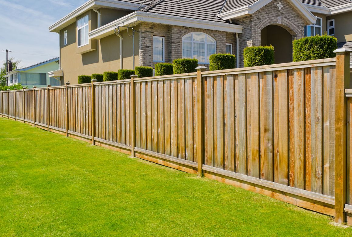 a fence installed by our team of professionals